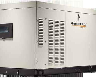 Бытовой газовый генератор GENERAC 21 кВт