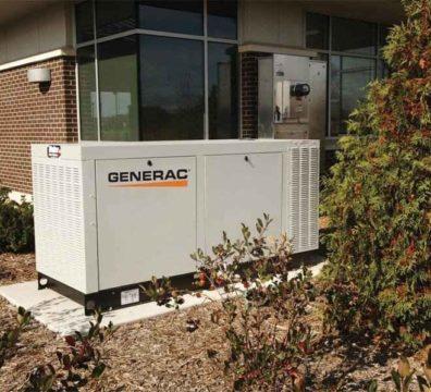 Промышленный газовый генератор Generac