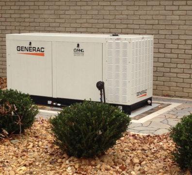 Промышленный газовый генератор Generac 70 кВт