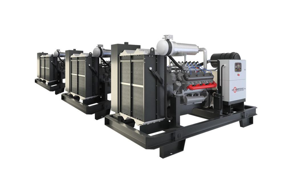 Промышленный газовый генератор ФАС-450-3/ЯС