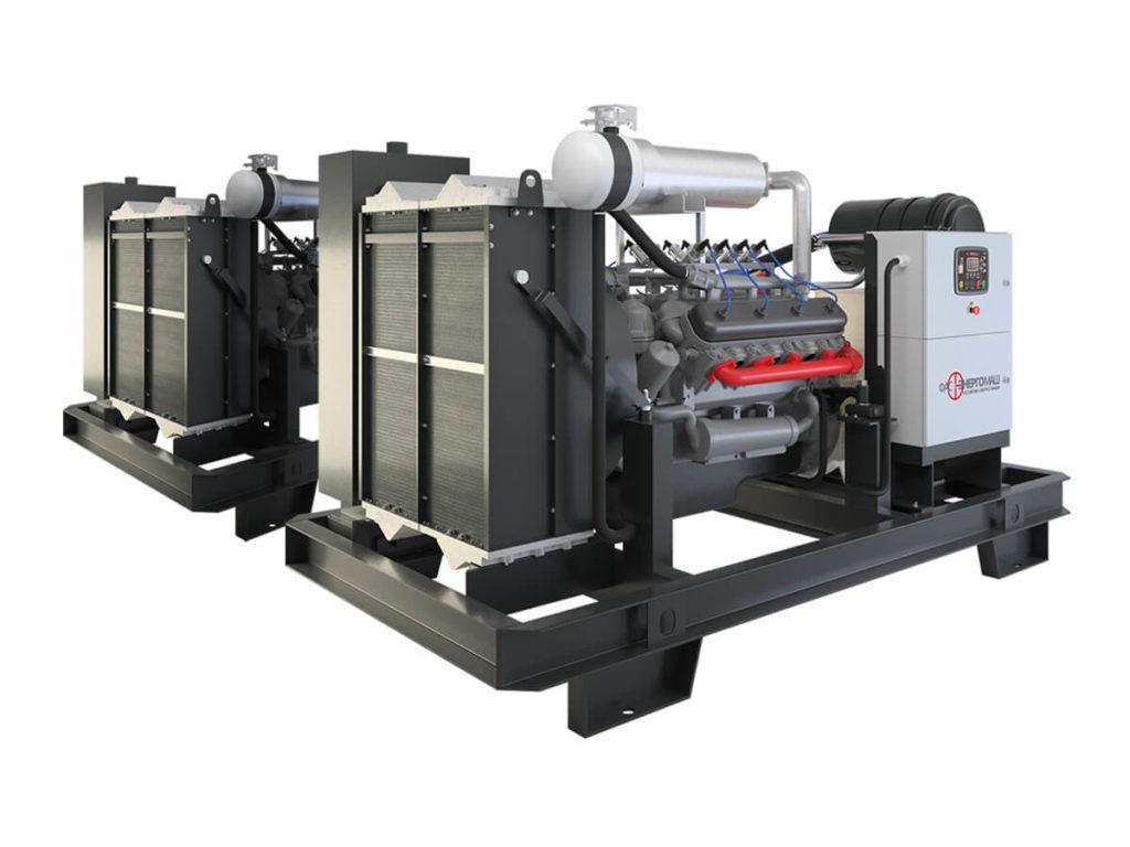 Промышленный газовый генератор ФАС-300-3/ЯС
